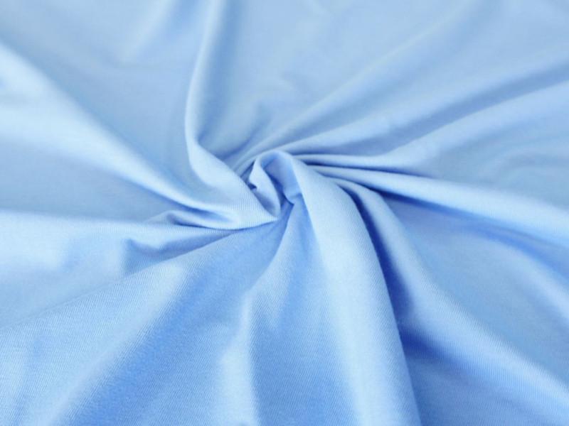 Ткань АкваСтоп 100%С(кулирка (140гр/м2+TPU мембрана) голубой